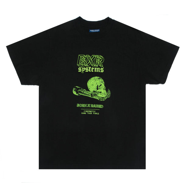 CYBERNETICS TEE: BLACK