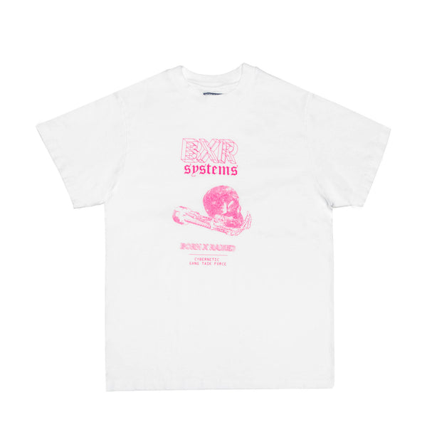 CYBERNETICS TEE: WHITE