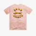 BORN X RAISED + AWAKE NY CHROME ROCKER TEE: PINK