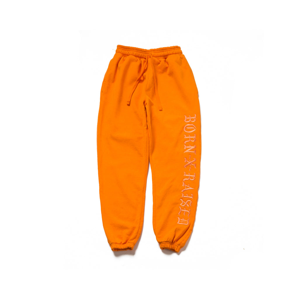BXR TONAL SWEATS: ORANGE