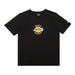 BORNXRAISED + LAKERS ROCKER TEE: BLACK