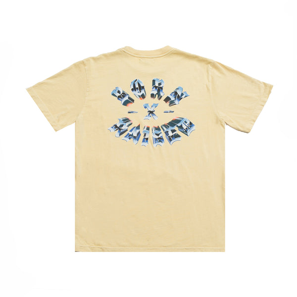 CHROME ROCKER T-SHIRT: SEA MIST