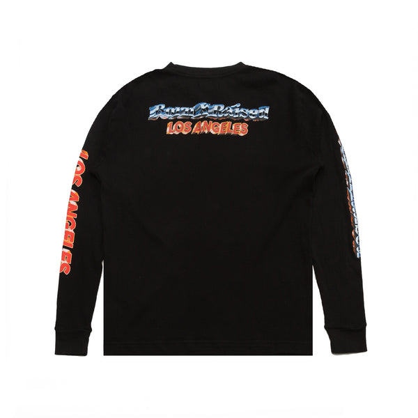 BORN X RAISED CHROME THERMAL: BLACK