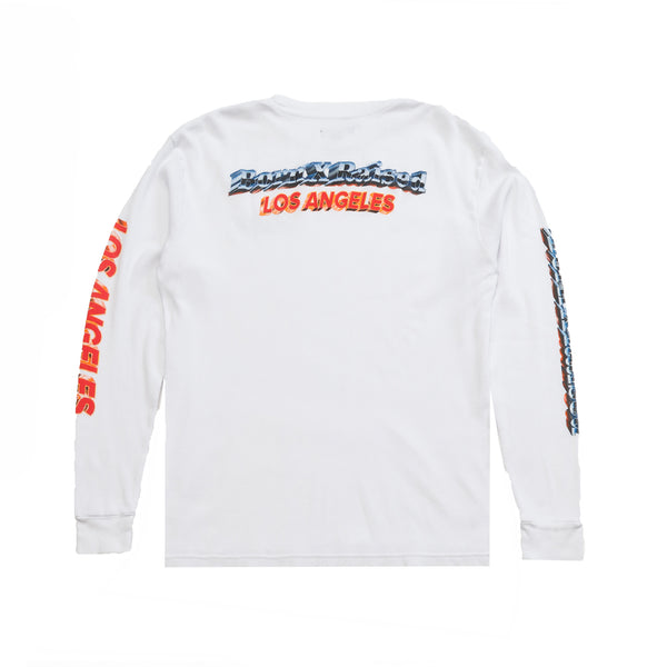 BORN X RAISED CHROME THERMAL: WHITE