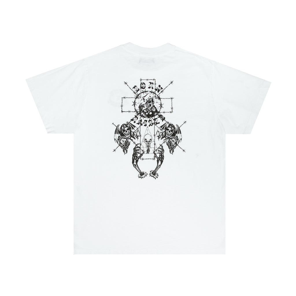 METHANY TEE: WHITE