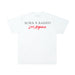 BORNXRAISED LOS ANGELES TEE: WHITE