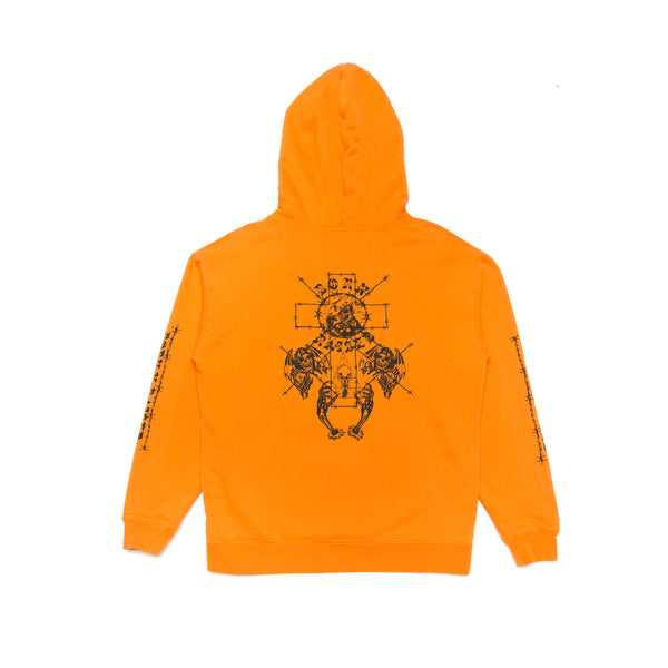 METHANY HOODY: ORANGE