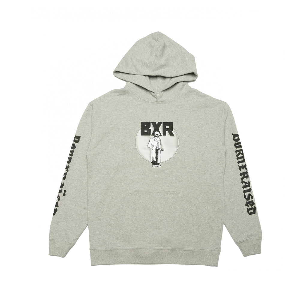 BEOWULF HOODY: HEATHER GREY