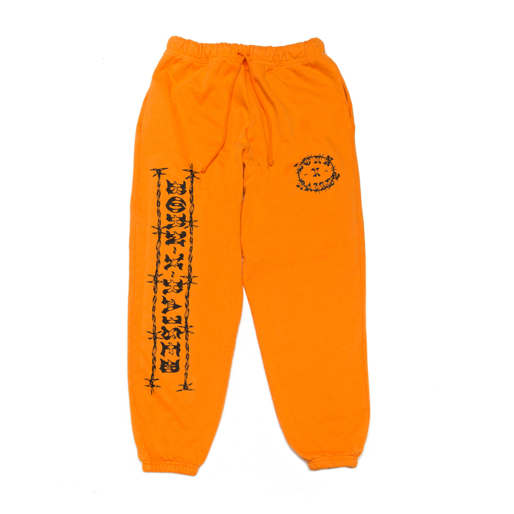 METHANY SWEATS: ORANGE