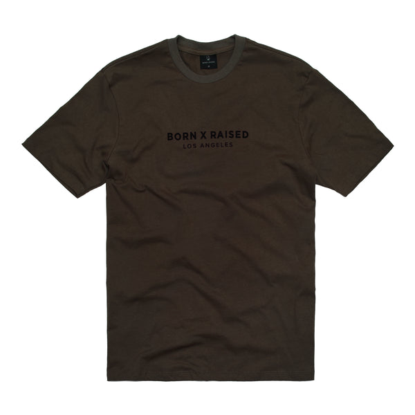 CORPORATE T-SHIRT: BROWN