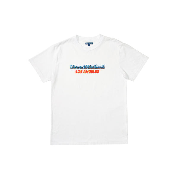 BORN X RAISED CHROME T-SHIRT: WHITE