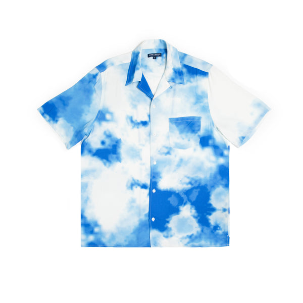 BLEACHED OUT BUTTON UP SHIRT