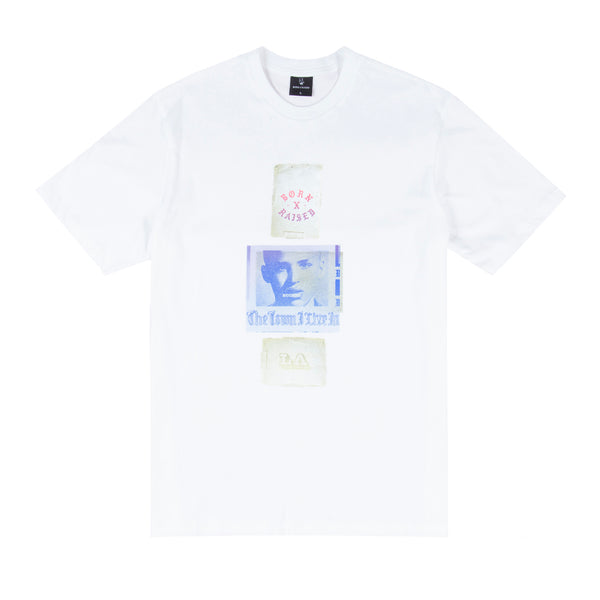 EUGENE T-SHIRT: WHITE