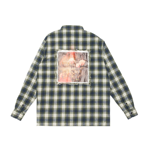 BARBED WIRE FLANNEL