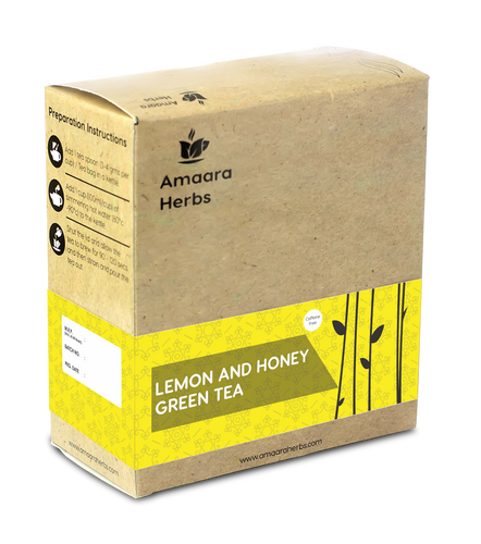 Lemon and Honey Green Tea, 25 Tea Bags