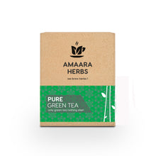 Load image into Gallery viewer, Pure Green Tea, 25 Tea Bags