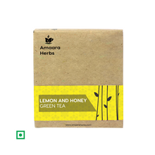 Load image into Gallery viewer, Lemon and Honey Green Tea, 25 Tea Bags
