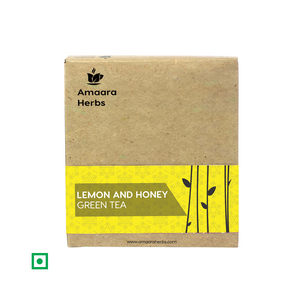 Lemon and Honey Green Tea