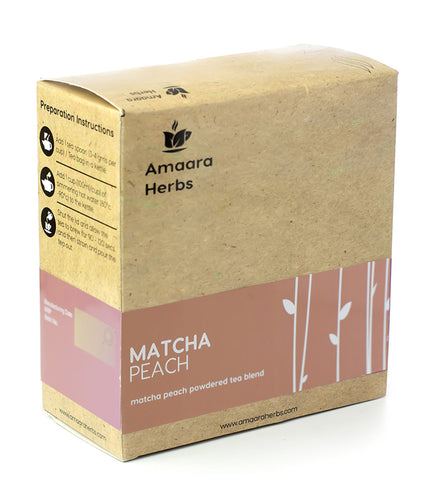 Matcha Peach Green Tea, 50g