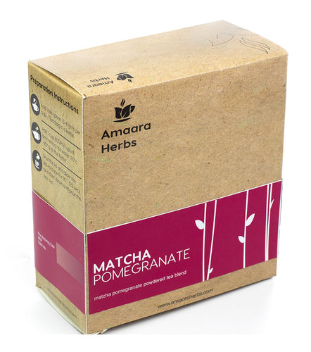Matcha Pomegranate Green Tea, 50g