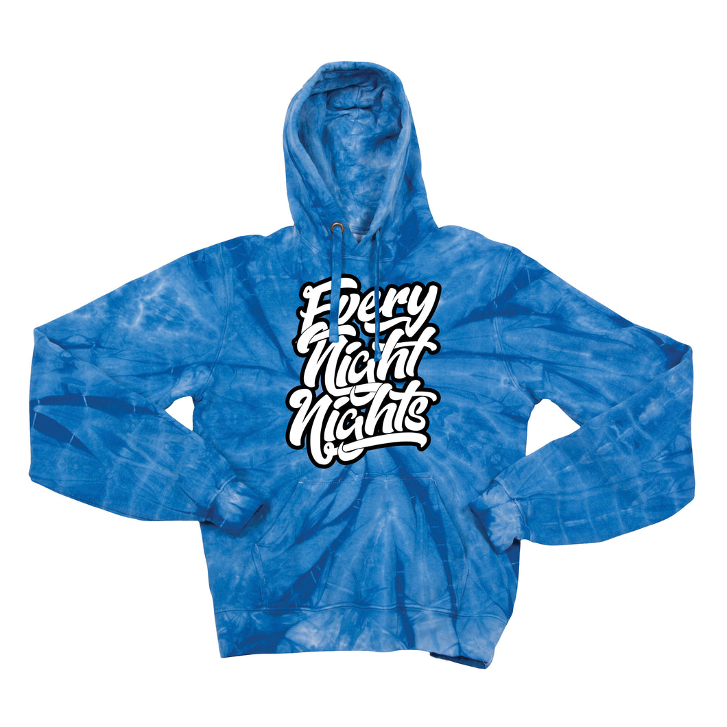 EVERYNIGHTNIGHTS Tie Dye Hoodie - EVERYDAYDAYS