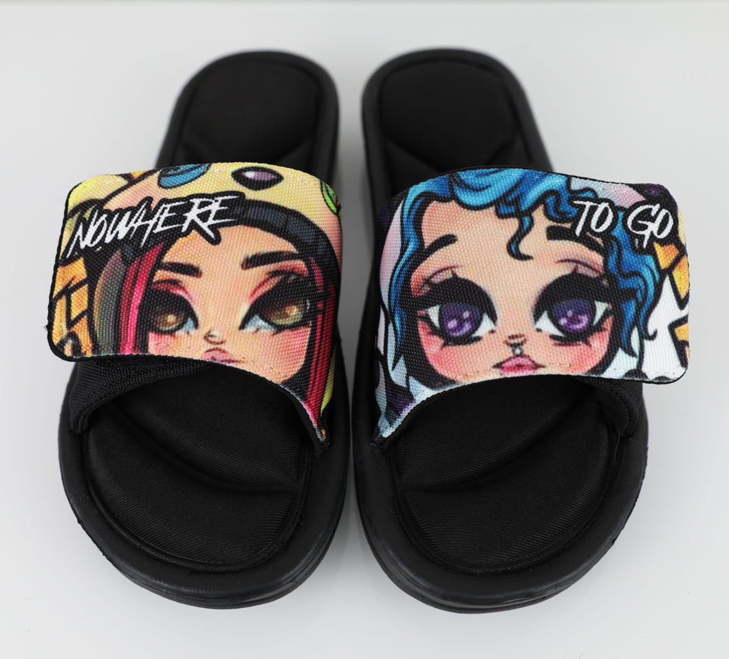 Nowhere To Go Slippers