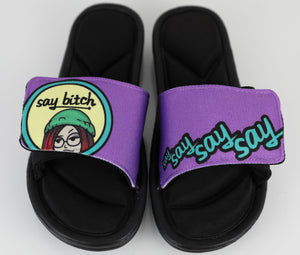 Say Bitch Slippers
