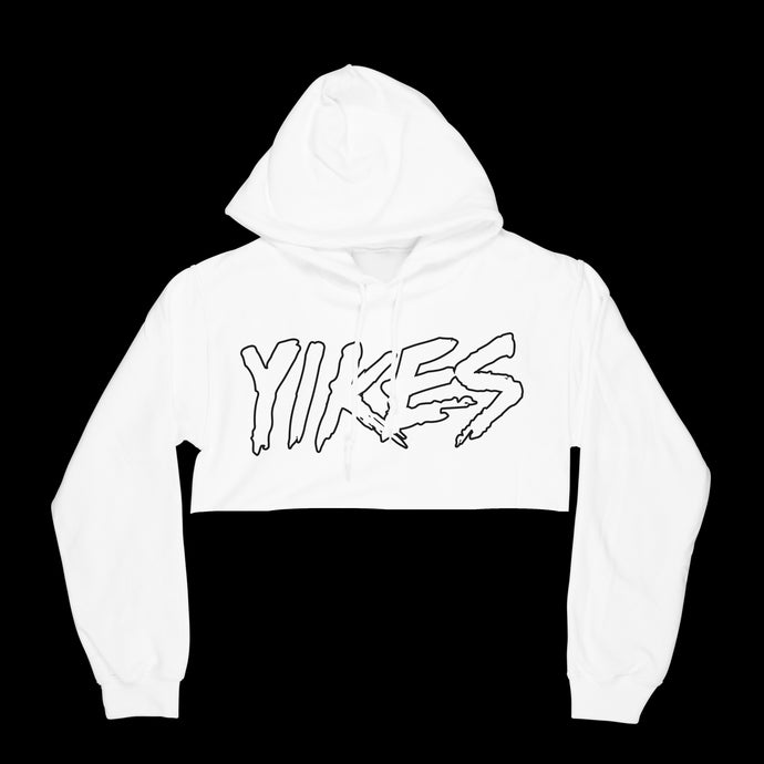 Yikes Cropped Hoodie - EVERYDAYDAYS