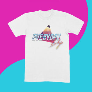 EVERYDAYDAYS RETRO LOGO T-SHIRT - EVERYDAYDAYS