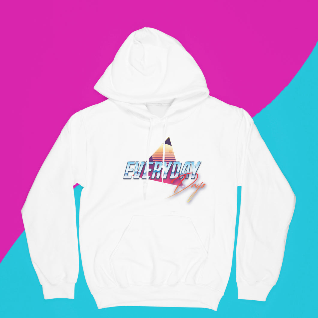 EVERYDAYDAYS RETRO LOGO HOODIE - EVERYDAYDAYS