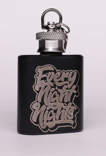 Everynightnights/Snow Tha Product Keychain Flask