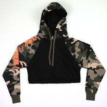 Load image into Gallery viewer, Snow Tha Product Camo Cropped Hoodie - EVERYDAYDAYS
