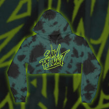 Load image into Gallery viewer, Snow Tha Product Neon Vibez Crop (Teal Cloud)