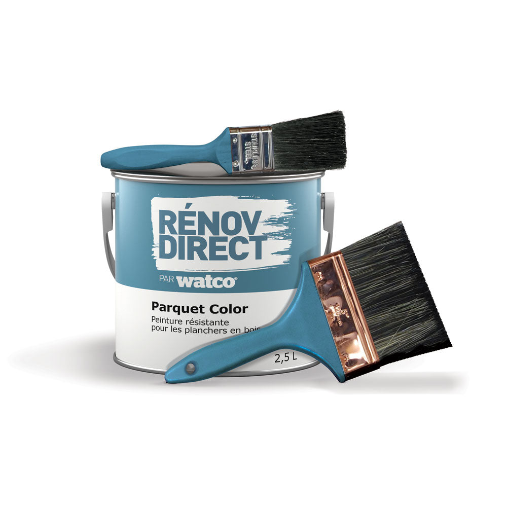 Kit Parquet Color - Couleur Charbon