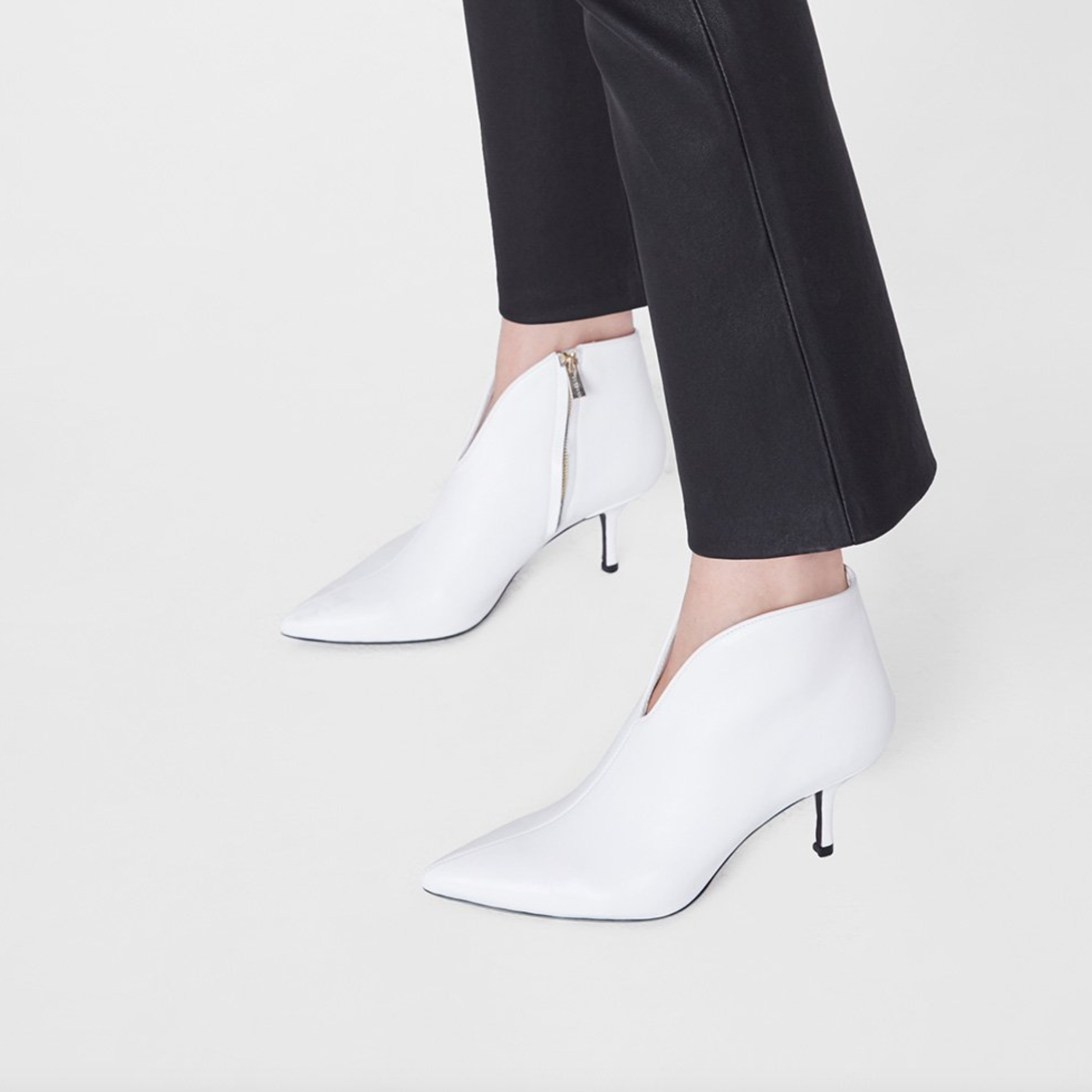 Buy Now: White Ankle Boots