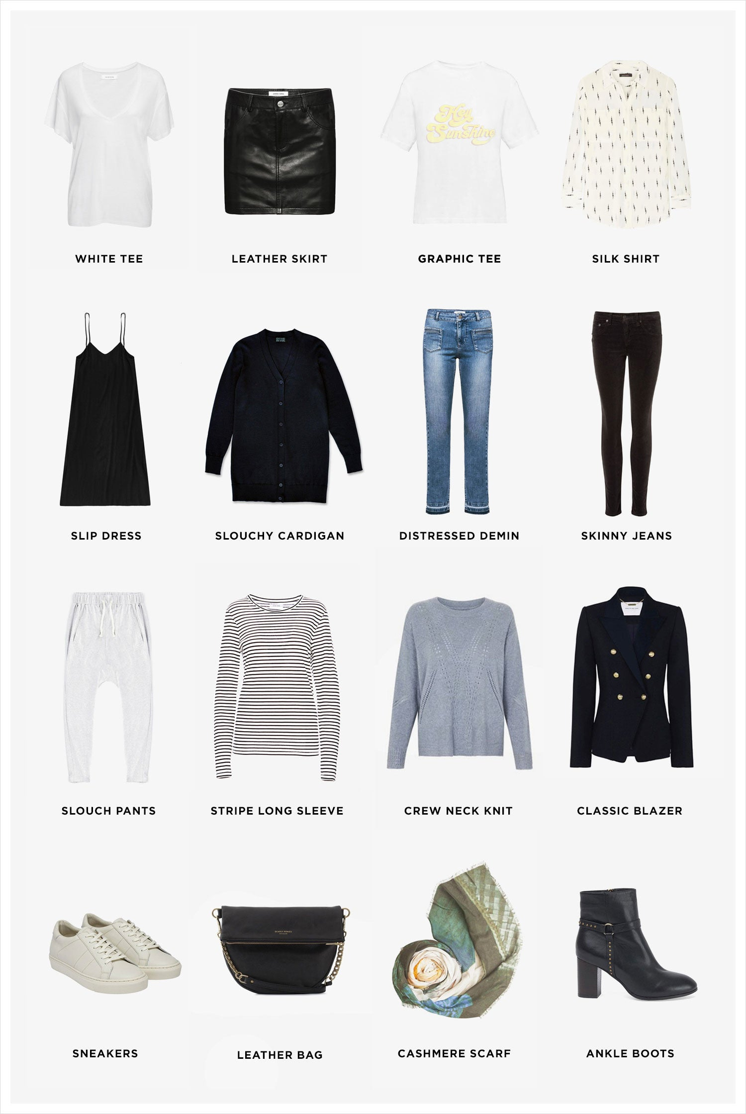 A Winter Capsule Wardrobe – Sisters & Co