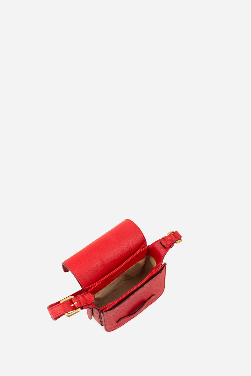 Vanessa Bruno BAG VERMILLON Vanessa Bruno | Mini Gemma Shoulder Bag - Vermilion