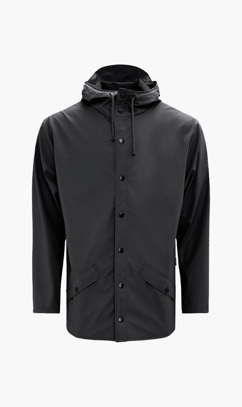 The Market Limited Womens Jacket RAINS | Jacket - Black