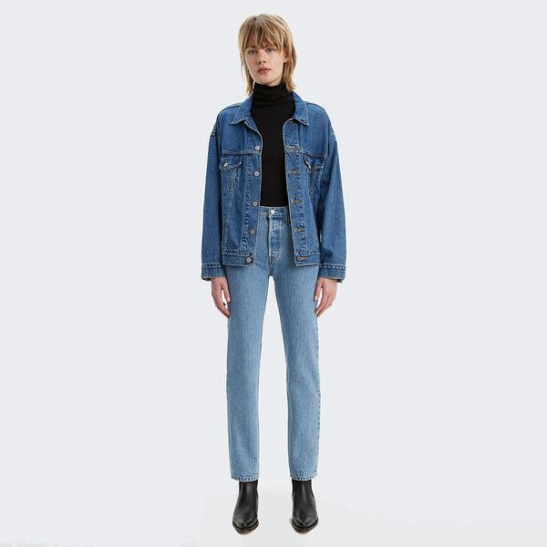 LEVI STRAUSS (NEW ZEALAND) LTD Womens Jeans Levi's | 501 Original Fit Jeans - Luxor Indigo