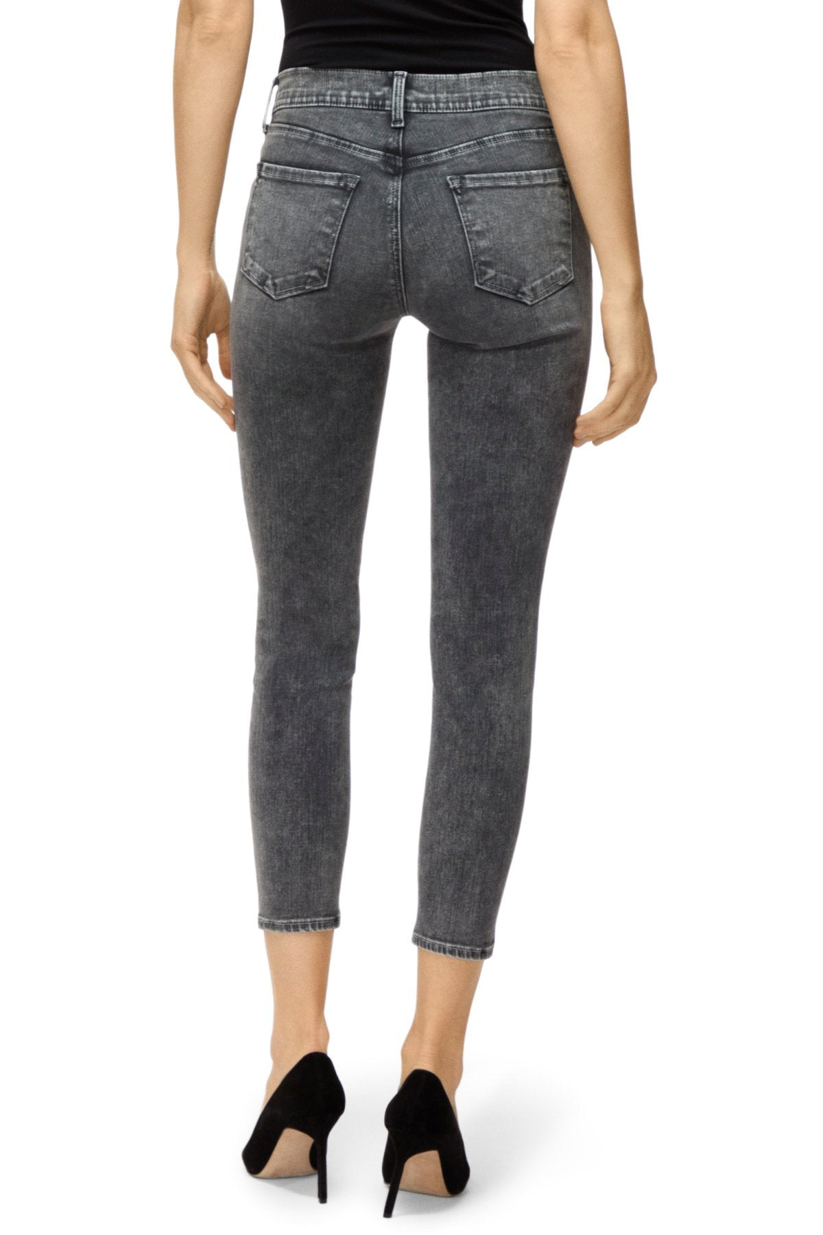 Edwards Imports Ltd Womens Jeans J Brand | 835 Mid Rise Cropped Skinny Jeans - Hook Up