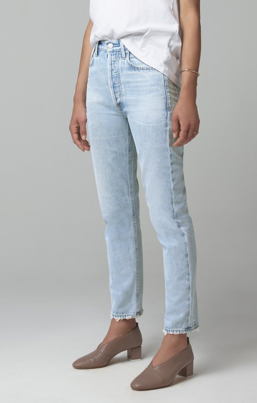 Citizens of Humanity Womens Jeans Citizens of Humanity | Charlotte High Rise Straight - La Luna