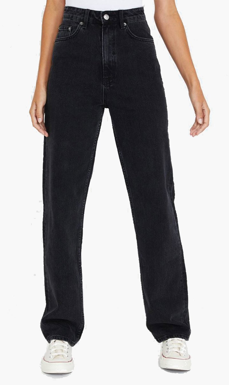 Stem Distribution Limited Womens Jeans Ksubi | Playback - Noir