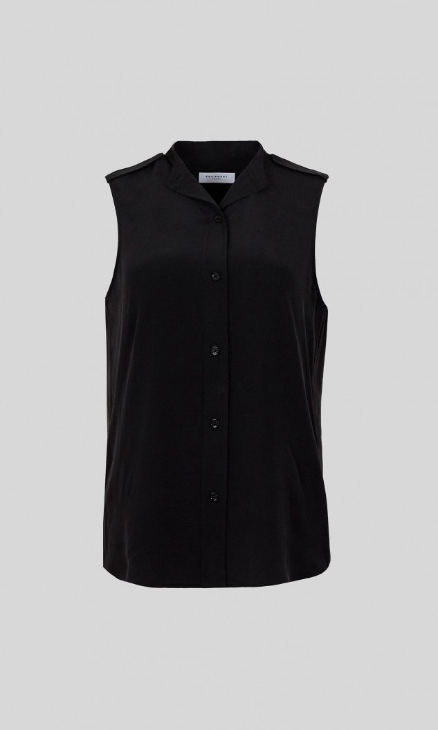 Edwards Imports Ltd Womens Tops Equipment | Charlee Shirt - True Black