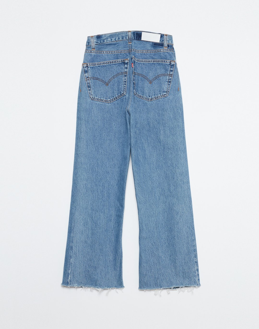 Re Done Womens Jeans RE/DONE | High Rise Wide Leg Crop - Indigo
