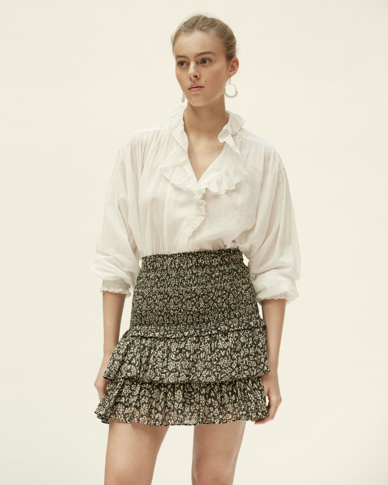 Isabel Marant Womens Skirts Isabel Marant Étoile | Naomi Skirt - Black