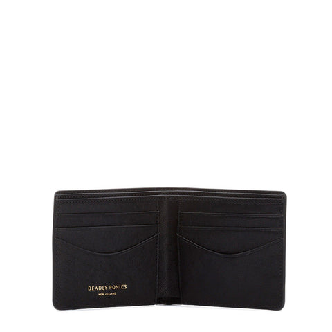 Deadly Ponies | Mr Flip Wallet - Black