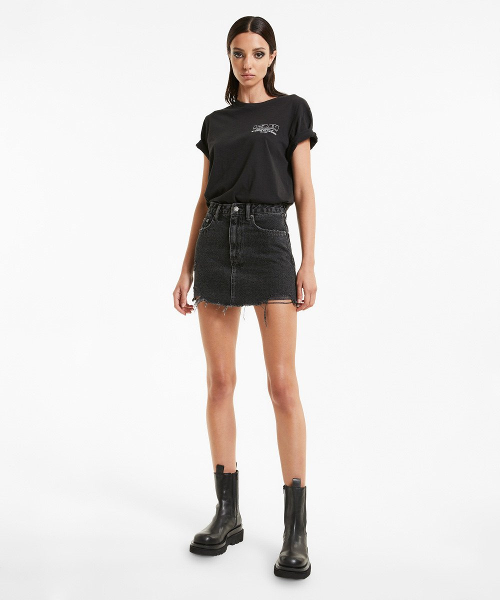 Stem Distribution Limited Womens Skirts Ksubi | Model Mini - Diablo