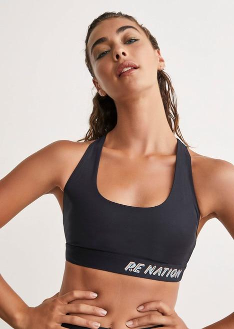 P.E NATION Activewear PE Nation | Resilience Sports Bra - Black