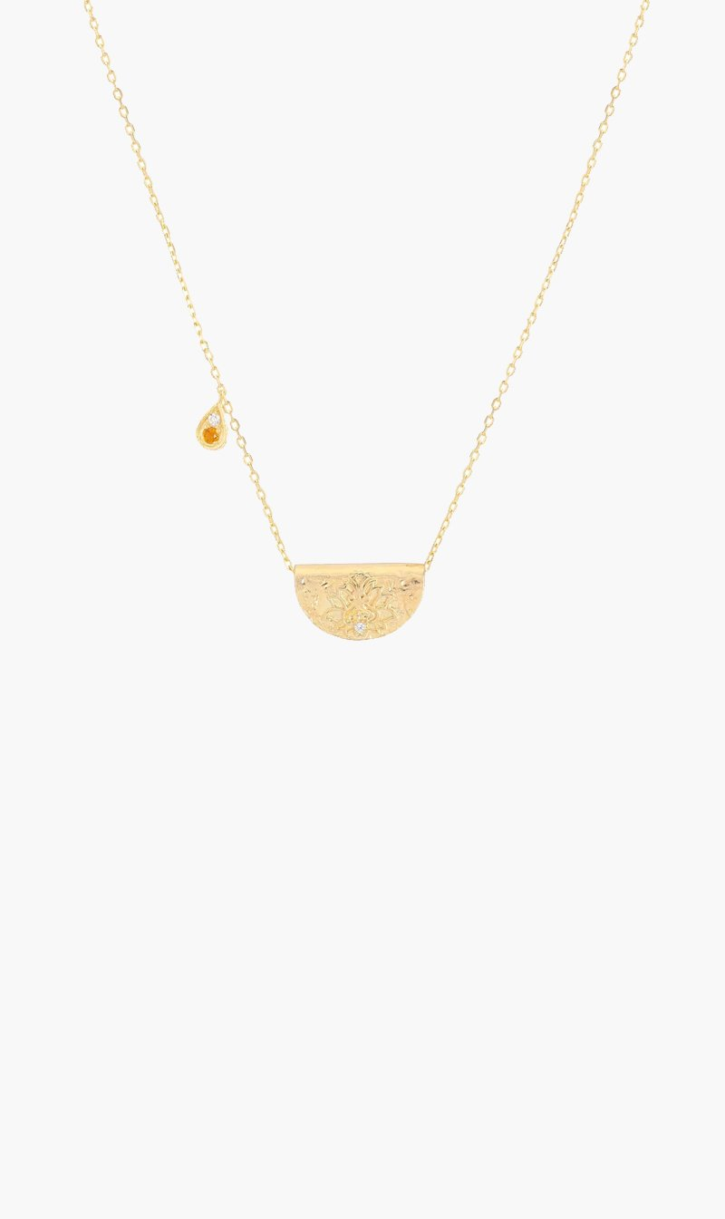 By Charlotte Jewellery GOLD By Charlotte | Illuminate Truth Necklace - Gold