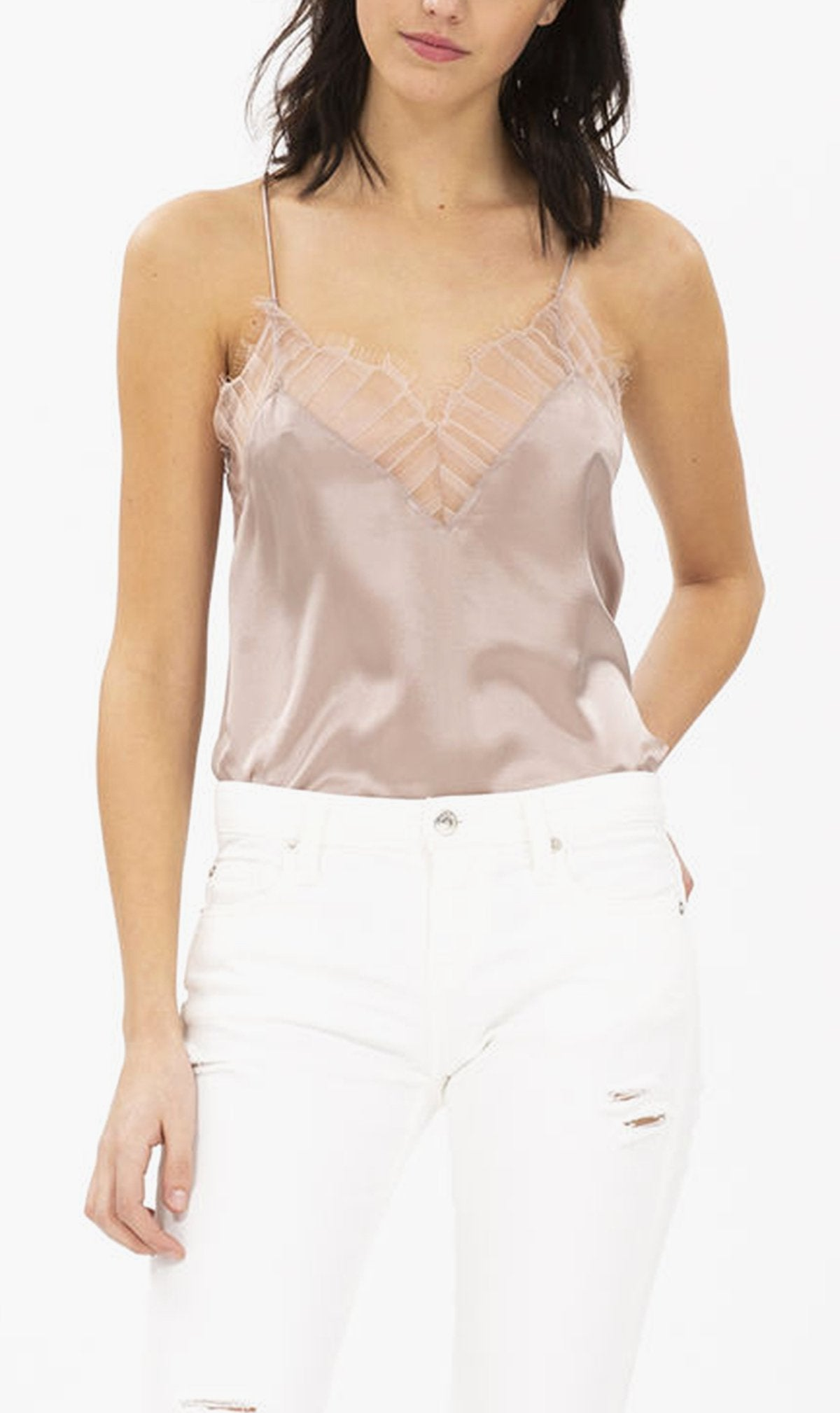 IRO Womens Tops IRO | Berwyn Top - Old Pink